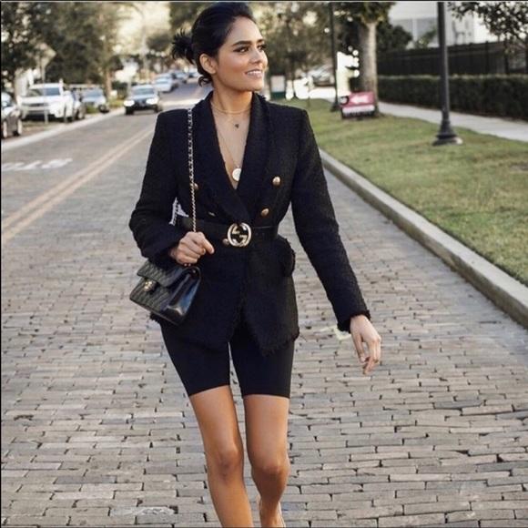 33772116 Zara Jackets & Coats | Nwot Tweed Blazer Sz Xl Women | Poshmark